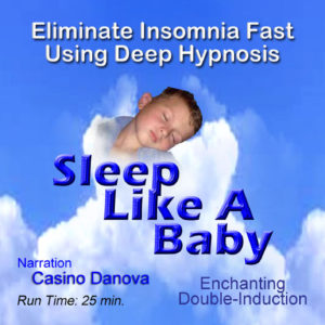 overcome insomnia, sleep like a rock, hypnotic sleep